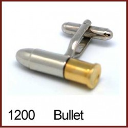 Bullet Novelty Cufflinks -...