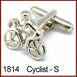 Cyclist - Silver Novelty...