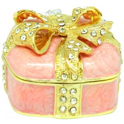 Gift Box with Bow Peach...