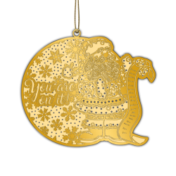 Adornment  Gold Xmas...