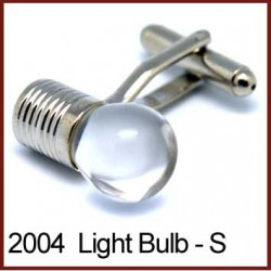 Light Bulb - Silver Novelty...