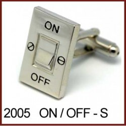 ON / OFF Switch - Silver...