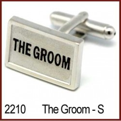 The Groom Wedding Cufflinks