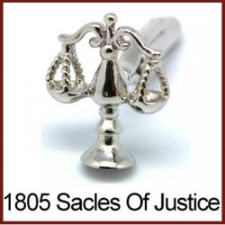Scales of Justice - Silver...