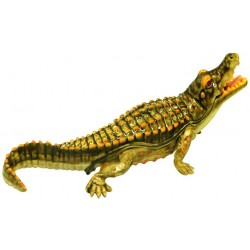Crocodile Trinket Box