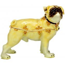 Pug Trinket Box