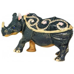 Rhino Trinket Box