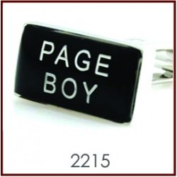 Page Boy Wedding Cufflinks
