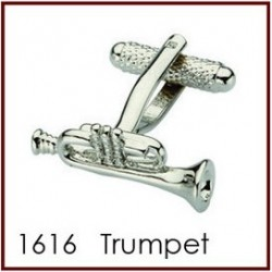 Trumpet Novelty Cufflinks