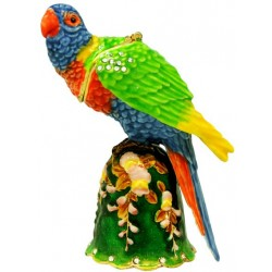 Rainbow Lorikeet Trinket Box