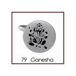 Ganesha - Silver Cufflinks
