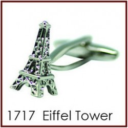 Eiffel Tower Novelty Cufflinks