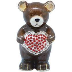 Brownie Bear Trinket Box