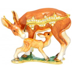Doe & Fawn Trinket Box