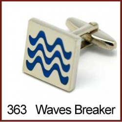 Waves Breaker Cufflinks
