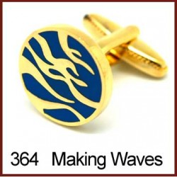 Making Waves Cufflinks