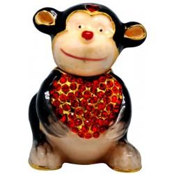 Monkey Love Trinket Box