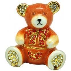 Party Bear Trinket Box