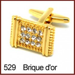 Brique d'or Cufflinks