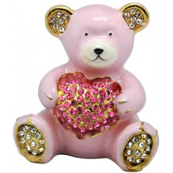 Pinky Bear Trinket Box
