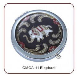 Compact Mirror - Champlevé...