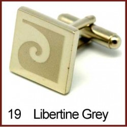 Libertine - Grey Cufflinks
