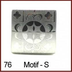 Motif -Silver Cufflinks