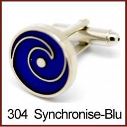 Synchronise - Blue Cufflinks