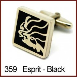 Esprit - Black Cufflinks