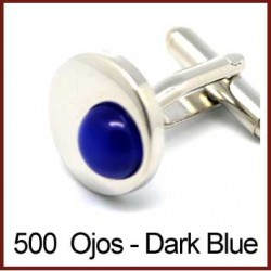 Ojos - Dark Blue Cufflinks