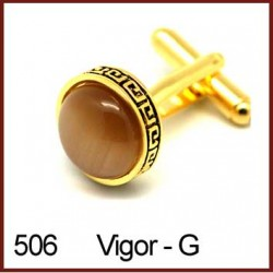 Vigor - Gold Cufflinks