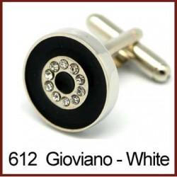 Giovano - White Cufflinks