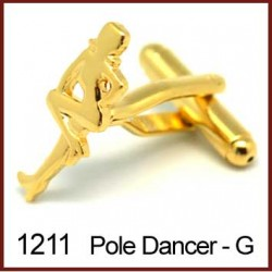 Pole Dancer - Gold Novelty...