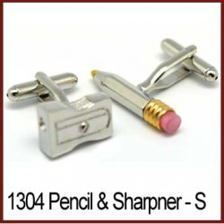 Pencil & Sharpener - Gold...