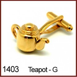 Teapot - Gold Novelty...