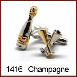 Champagne Novelty Cufflinks