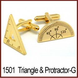 Protractor & Triangle -...