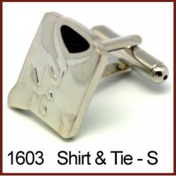Shirt & Tie - Silver...
