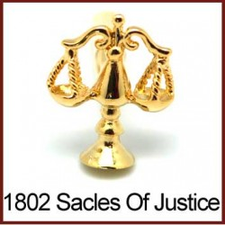 Scales of Justice - Gold...