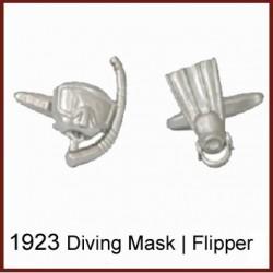 Diving Mask & Flipper...