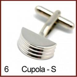 Cupola - Silver Cufflinks