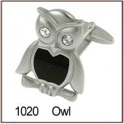 Owl Novelty Cufflinks