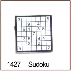 Sudoku Novelty Cufflinks