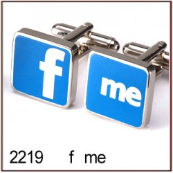 f me Novelty Cufflinks