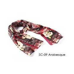 Designer Silk Scarf -...