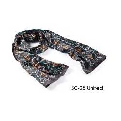 Designer Silk Scarf - United