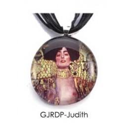 Round Pendant - Judith