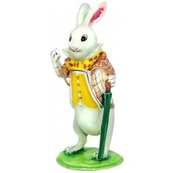 White Rabbit Trinket Box