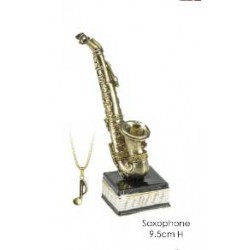 Saxophone Trinket Box