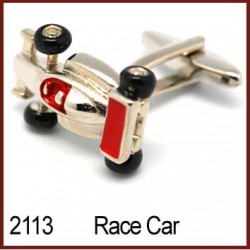 Race Car Novelty Cufflinks